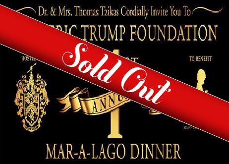 1st Annual Mar-A-Lago Dinner - Sold Out