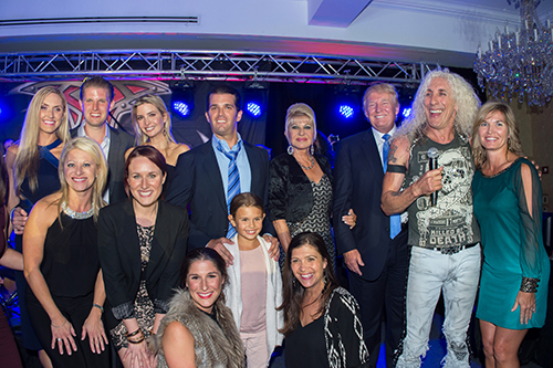 8th Annual Eric Trump Foundation Gala Featuring Dee Snider